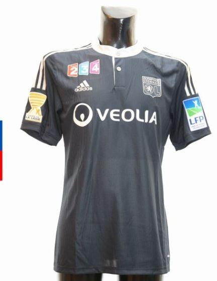 Pr sentation maillots ol des ann es 2010 - Lyon monaco coupe de la ligue 2014 ...