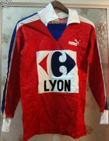 Maillot OL LONGUES