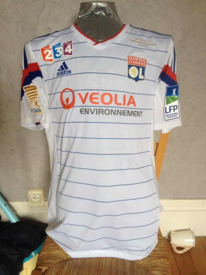 Pr sentation maillots ol des ann es 2010 - Coupe de la ligue 2013 2014 ...